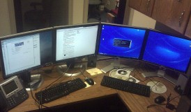 Andy's desk.
