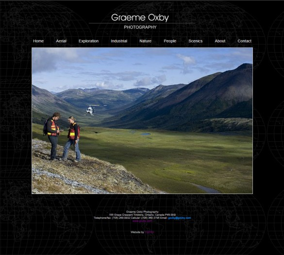 Graeme Oxby home page
