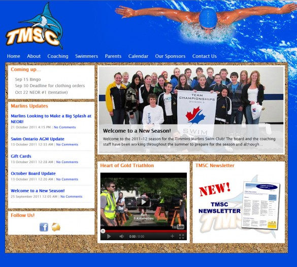 Timmins Marlins home page