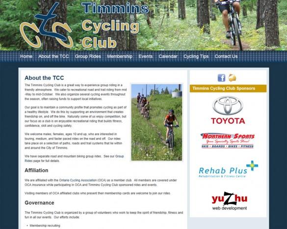 Timmins Cycling Club